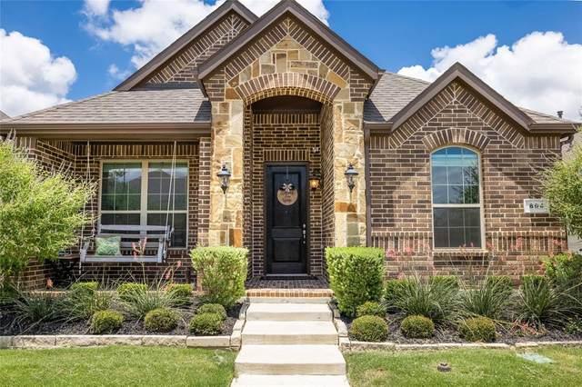 804 10th Street, Argyle, TX 76226 (MLS #14622104) :: The Mauelshagen Group