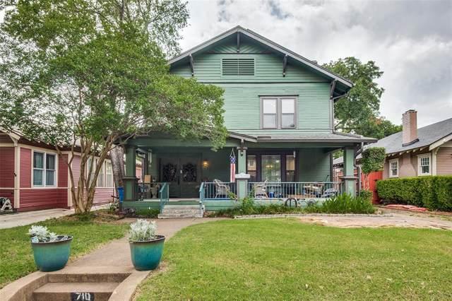 710 Woodlawn Avenue, Dallas, TX 75208 (MLS #14622122) :: The Chad Smith Team