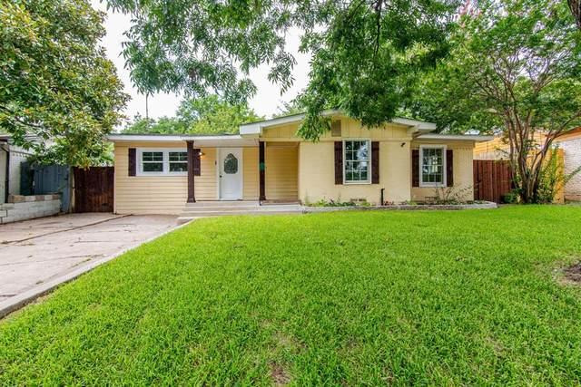 1601 Hillcrest Street, Mesquite, TX 75149 (MLS #14622353) :: Wood Real Estate Group