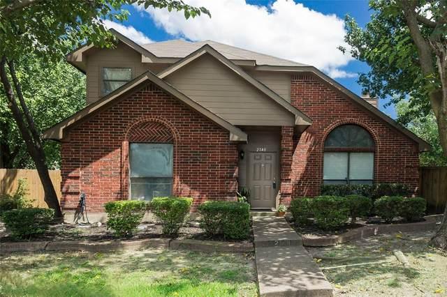 2140 Meadow Way Court, Dallas, TX 75228 (MLS #14622659) :: Rafter H Realty