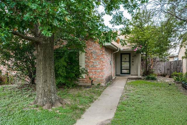 7141 Pineberry Road, Dallas, TX 75249 (MLS #14622960) :: The Hornburg Real Estate Group
