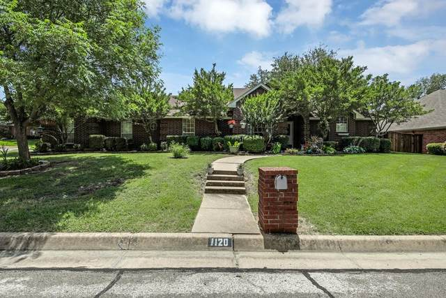 1120 Shady Hill Lane, Burleson, TX 76028 (MLS #14623067) :: The Mauelshagen Group