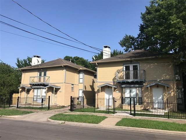 4512 Sycamore Street, Dallas, TX 75204 (MLS #14623195) :: Real Estate By Design