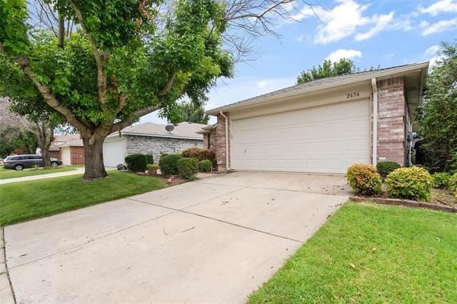 2636 Peach Drive, Little Elm, TX 75068 (MLS #14623244) :: The Chad Smith Team