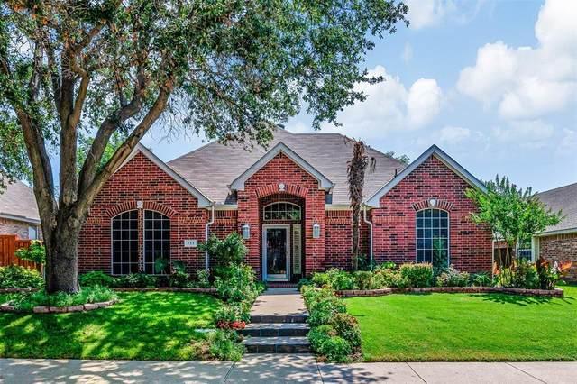 111 Peregrine Drive, Mckinney, TX 75072 (MLS #14623391) :: Maegan Brest | Keller Williams Realty