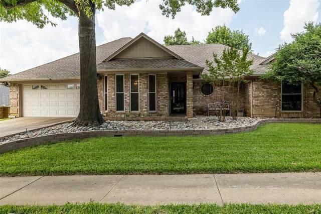 802 Glenn Drive, Euless, TX 76039 (MLS #14623455) :: The Mitchell Group
