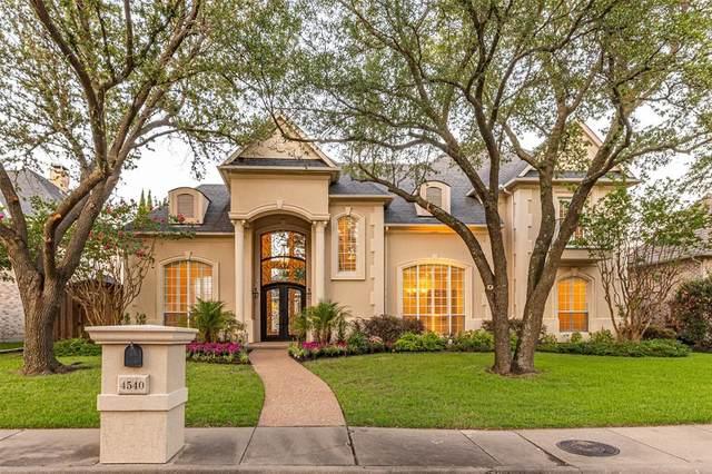 4540 Banyan Lane, Dallas, TX 75287 (MLS #14623569) :: The Daniel Team