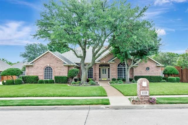 1113 Mockingbird Lane, Keller, TX 76248 (MLS #14623699) :: Real Estate By Design