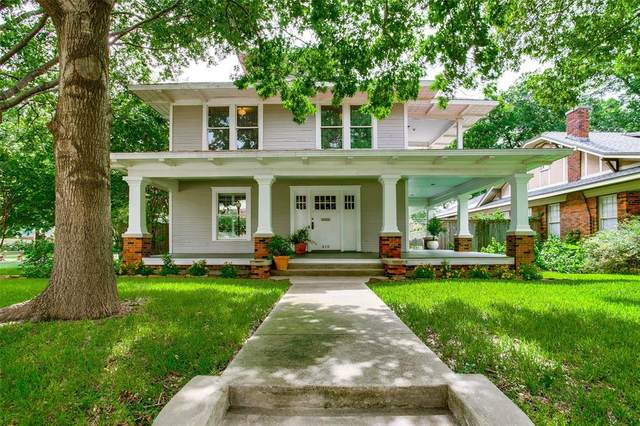 418 N Rosemont Avenue, Dallas, TX 75208 (MLS #14623721) :: Wood Real Estate Group