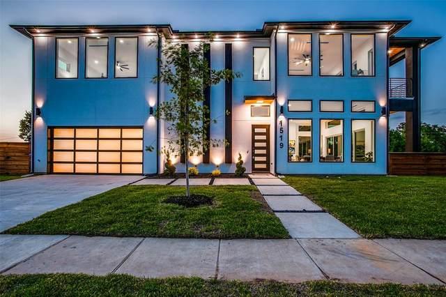 1519 Bayside Street, Dallas, TX 75212 (MLS #14624066) :: Real Estate By Design