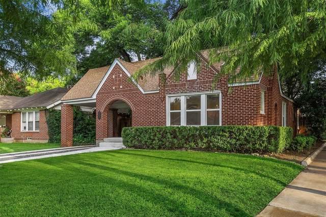 1142 Pioneer Drive, Dallas, TX 75224 (MLS #14624279) :: Rafter H Realty