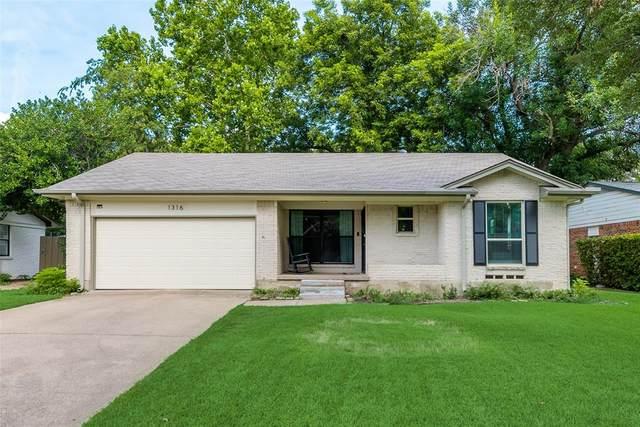 1316 Provincetown Lane, Richardson, TX 75080 (MLS #14624299) :: The Mauelshagen Group