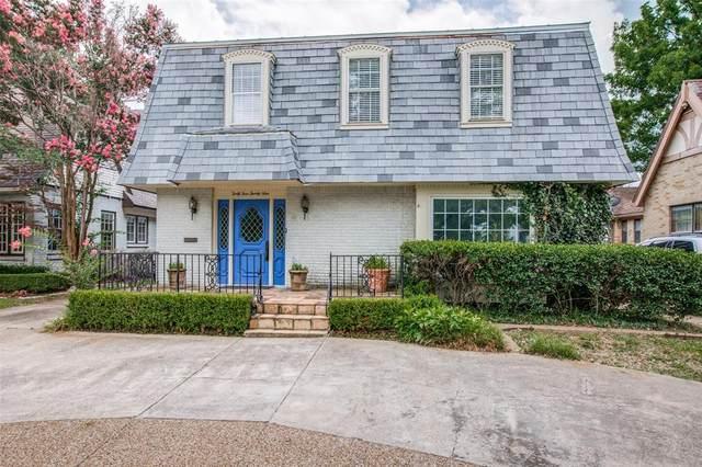4429 Mockingbird Lane, Highland Park, TX 75205 (MLS #14624300) :: The Hornburg Real Estate Group