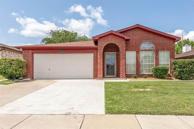415 Sea Rim Drive, Arlington, TX 76018 (MLS #14624350) :: Real Estate By Design