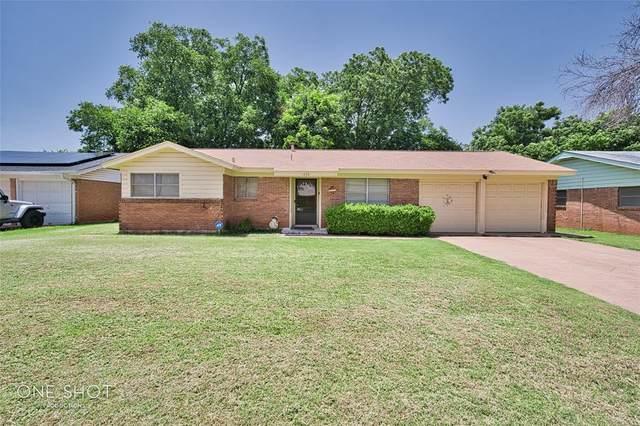 1826 Minter Lane, Abilene, TX 79603 (MLS #14624508) :: Maegan Brest | Keller Williams Realty