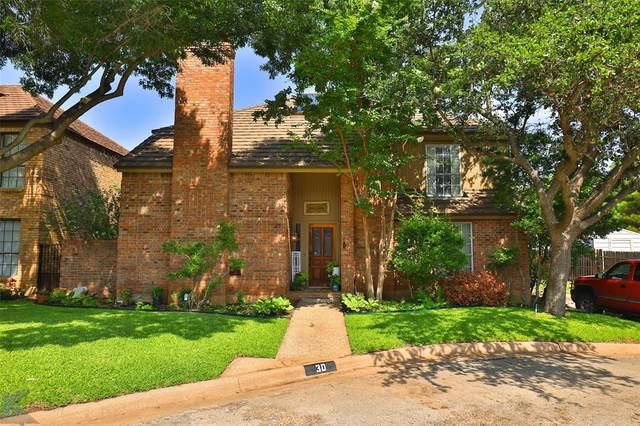 30 Courtyard Lane, Abilene, TX 79606 (MLS #14624606) :: Rafter H Realty
