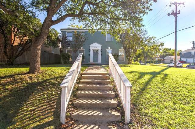 3259 S University Drive, Fort Worth, TX 76109 (MLS #14624663) :: Real Estate By Design