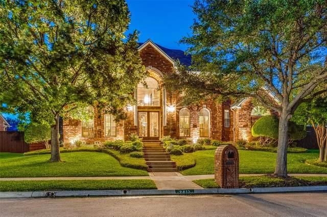 2413 Creekside Circle S, Irving, TX 75063 (MLS #14624700) :: The Mauelshagen Group