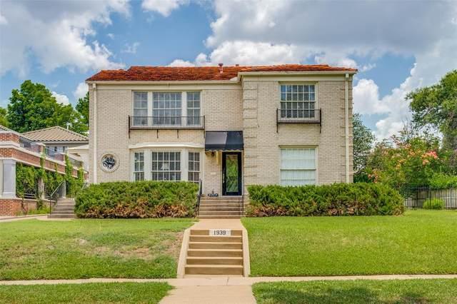 1937 Rockridge Terrace, Fort Worth, TX 76110 (MLS #14624727) :: Real Estate By Design