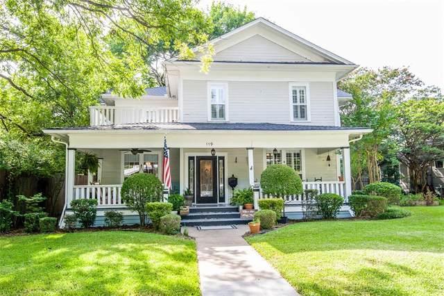 119 E University Avenue, Waxahachie, TX 75165 (MLS #14624757) :: Real Estate By Design