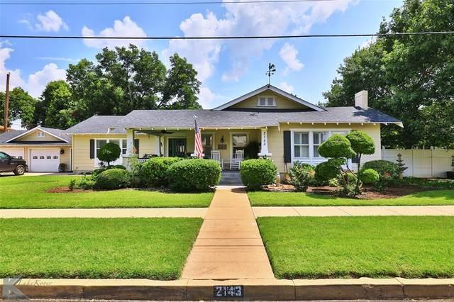 2143 S 10th Street, Abilene, TX 79605 (MLS #14624890) :: The Property Guys