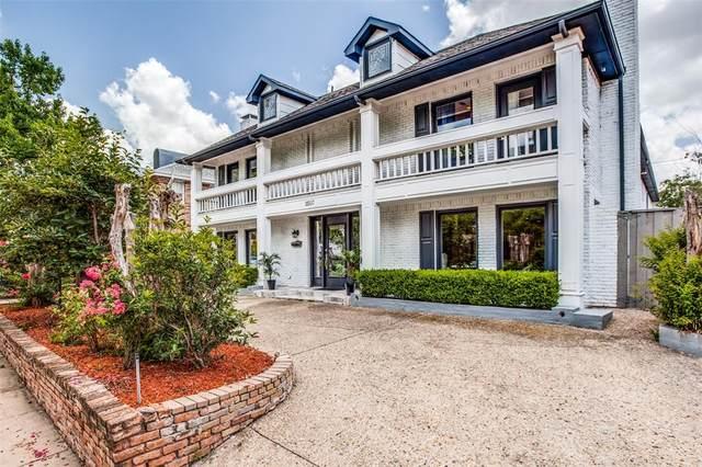 3507 Mcfarlin Boulevard, University Park, TX 75205 (MLS #14624911) :: Real Estate By Design