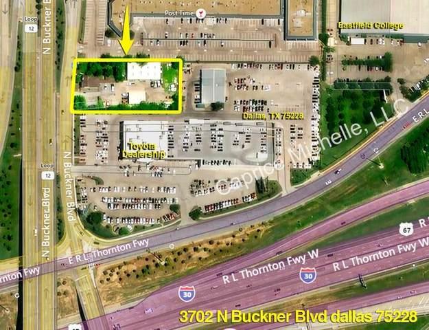 3702 N Buckner Boulevard, Dallas, TX 75228 (MLS #14625026) :: The Hornburg Real Estate Group