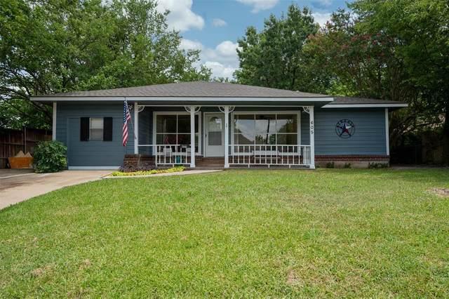 605 S Santa Fe Street, Wolfe City, TX 75496 (MLS #14625183) :: The Kimberly Davis Group