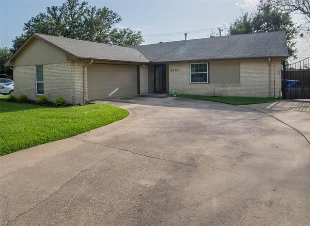 2101 Ashwood Lane, Carrollton, TX 75006 (MLS #14625353) :: The Krissy Mireles Team