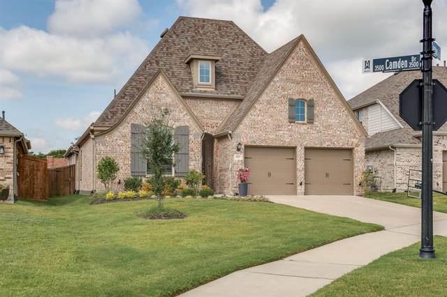 3517 Camden Drive, Melissa, TX 75454 (MLS #14625771) :: The Mauelshagen Group