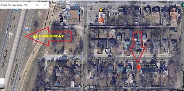 218 W Ohio Avenue, Dallas, TX 75224 (MLS #14625982) :: Real Estate By Design