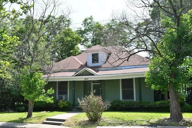 1812 Washington Street, Commerce, TX 75428 (MLS #14625991) :: Wood Real Estate Group