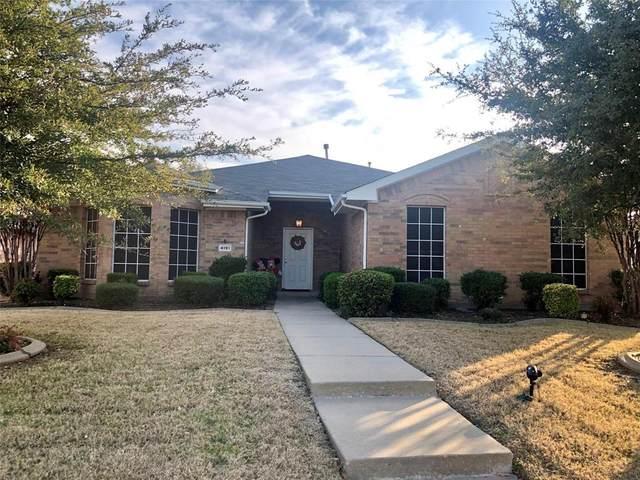 4191 Cherry Ridge Drive, Frisco, TX 75033 (MLS #14626077) :: Wood Real Estate Group