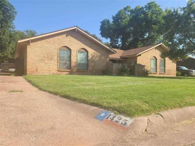 1425 Chateau Drive, Abilene, TX 79603 (MLS #14626211) :: Real Estate By Design