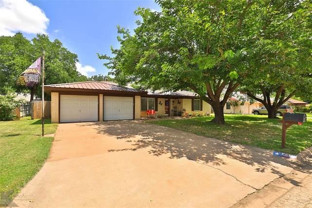 2926 Arrowhead Drive, Abilene, TX 79606 (MLS #14626490) :: Wood Real Estate Group