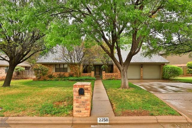 2258 Rim Rock, Abilene, TX 79606 (MLS #14626685) :: The Mauelshagen Group
