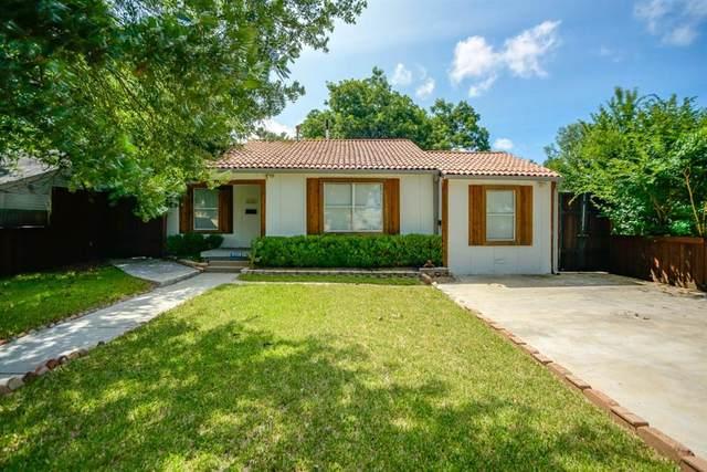 3126 Carlson Drive, Dallas, TX 75235 (MLS #14626867) :: Real Estate By Design