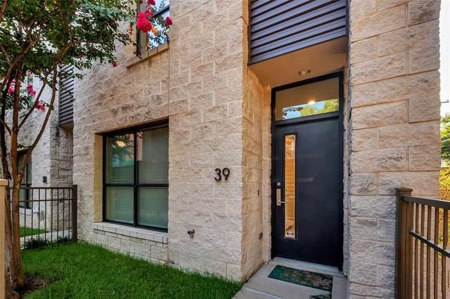 4111 Newton Avenue #39, Dallas, TX 75219 (MLS #14627144) :: The Chad Smith Team