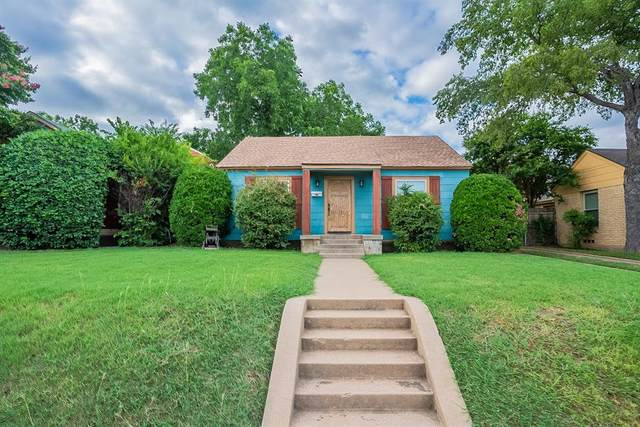 4604 Calmont Avenue, Fort Worth, TX 76107 (MLS #14627405) :: Real Estate By Design
