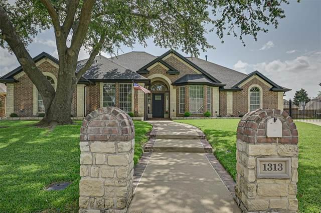 1313 Waterwood Drive, Mansfield, TX 76063 (MLS #14627614) :: Rafter H Realty