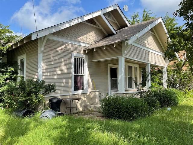 207 N Hill Street, Itasca, TX 76055 (MLS #14627748) :: Wood Real Estate Group