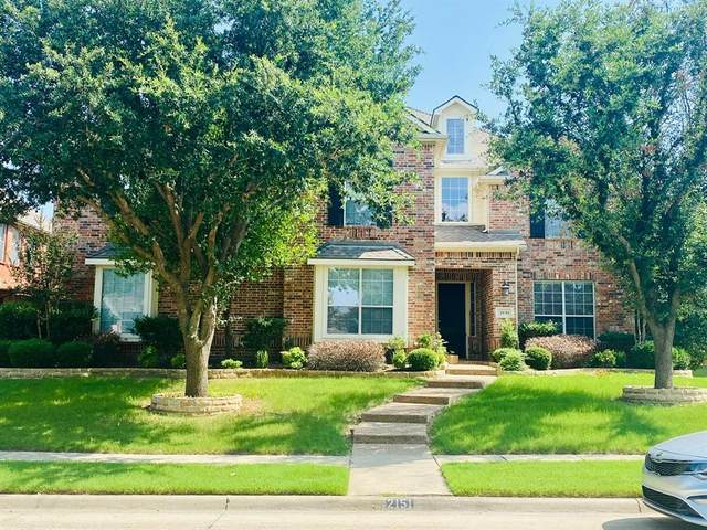 2151 Angel Falls Drive, Frisco, TX 75036 (MLS #14627810) :: Trinity Premier Properties