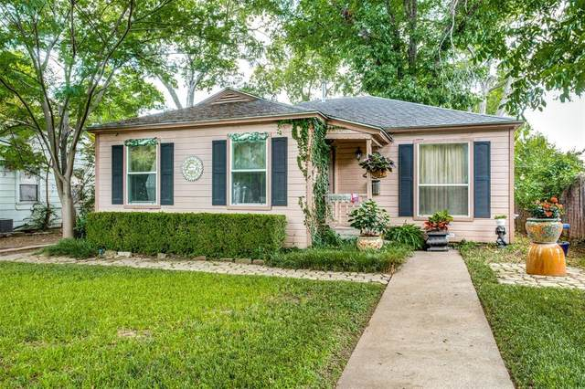 2837 Cherrywood Avenue, Dallas, TX 75235 (MLS #14627853) :: Real Estate By Design