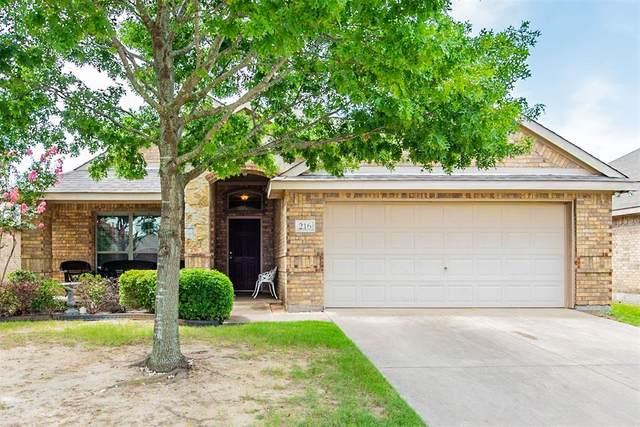216 Rawhide Street, Waxahachie, TX 75165 (MLS #14628207) :: Rafter H Realty