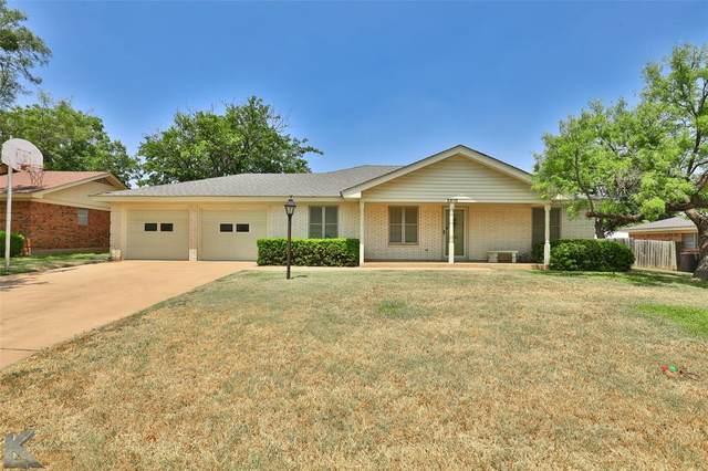 2810 Arrowhead Drive, Abilene, TX 79606 (MLS #14628311) :: Wood Real Estate Group