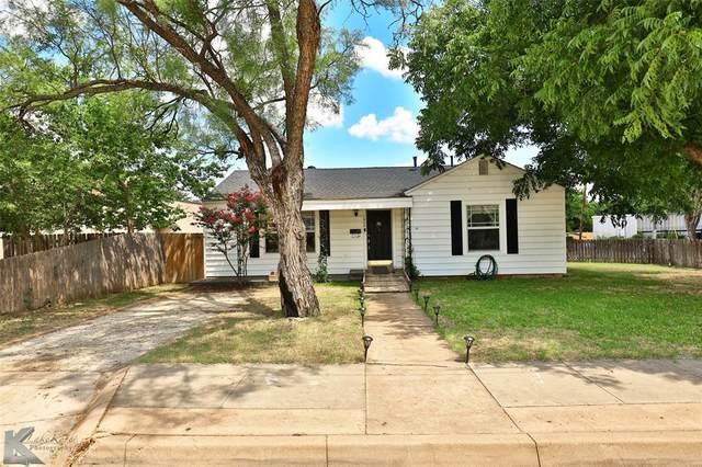 1626 S 9th Street, Abilene, TX 79602 (MLS #14628338) :: Real Estate By Design