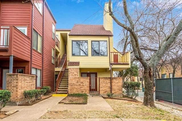 2305 Basil Drive D206, Arlington, TX 76006 (MLS #14628387) :: Real Estate By Design