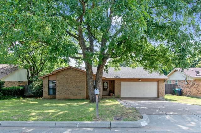 1101 Blue Carriage Lane N, Fort Worth, TX 76120 (MLS #14628497) :: VIVO Realty