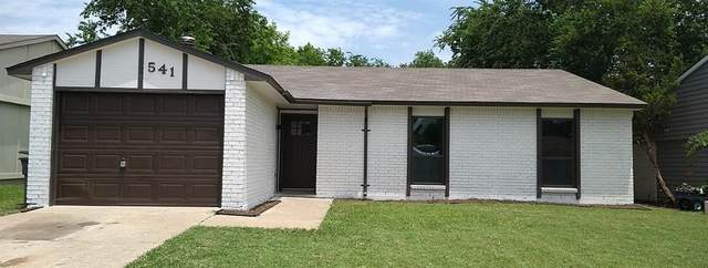 541 Hightrail Drive, Allen, TX 75002 (MLS #14628874) :: Rafter H Realty