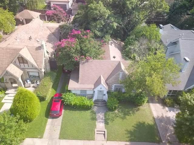 3313 Milton Avenue, University Park, TX 75205 (MLS #14629103) :: Real Estate By Design